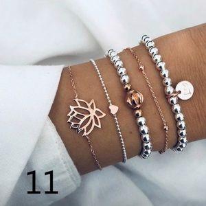 Bracelet set.